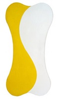 yellow white [sun] by leon polk smith